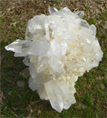 A Freshly Mined and Rinsed Burr from the Avatar Crystal Mine