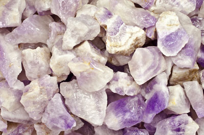 Cabbing Crystal Healing Tumble Rocks Reiki 2 Pounds of Milky Amethyst Rough